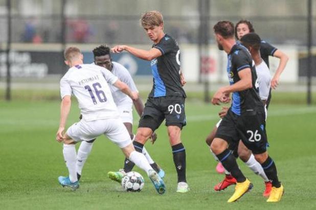 Club Brugge en Beerschot delen de punten in oefenduel