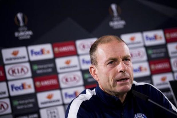Europa League - Jess Thorup veut voir La Gantoise à Wolfsburg avec la même mentalité qu'au match aller