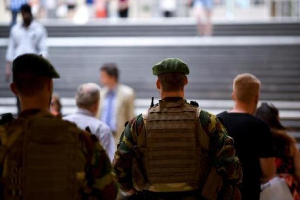 Militairen verdwijnen tegen september 2021 van het straatbeeld