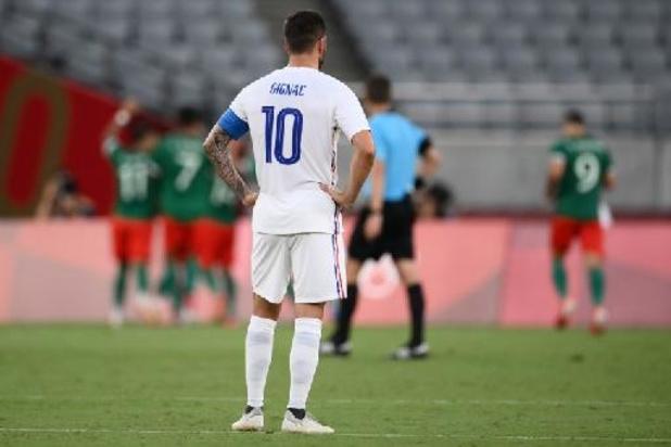 Football : la France débute par une large défaite contre le Mexique aux JO