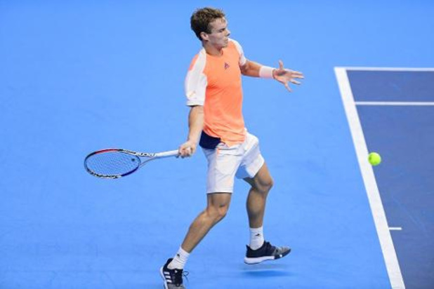 European Open - Michael Geerts battu au 1er tour des qualifications
