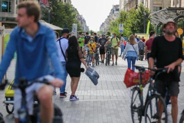 Semaine de la Mobilité - Une journée sans voiture sans incident, se réjouit la ministre bruxelloise de la Mobilité
