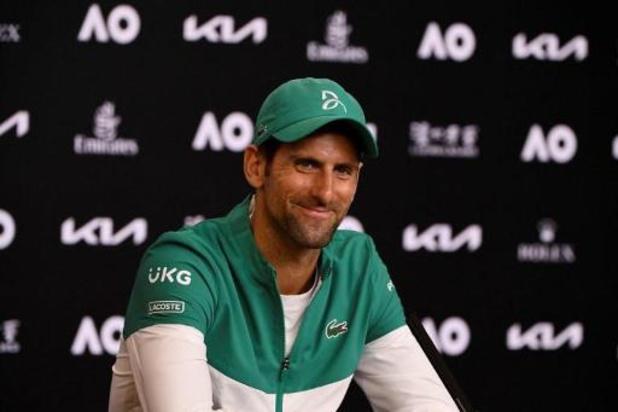 Novak Djokovic favori du premier Grand Chelem de l'année à Melbourne