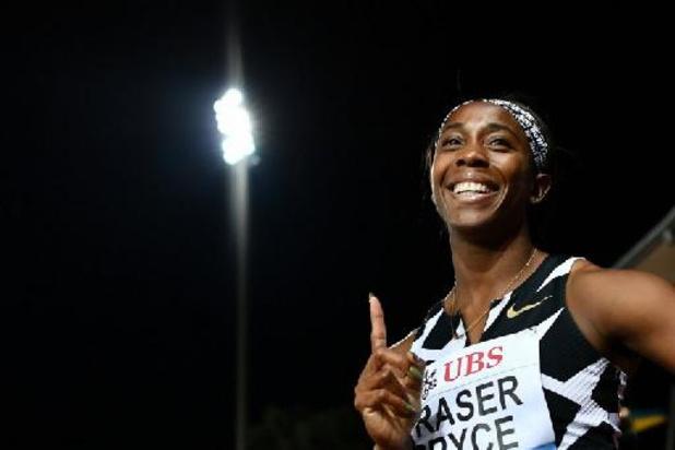 Diamond League Lausanne - Shelly-Ann Fraser Prace dendert naar persoonlijk record op 100 meter