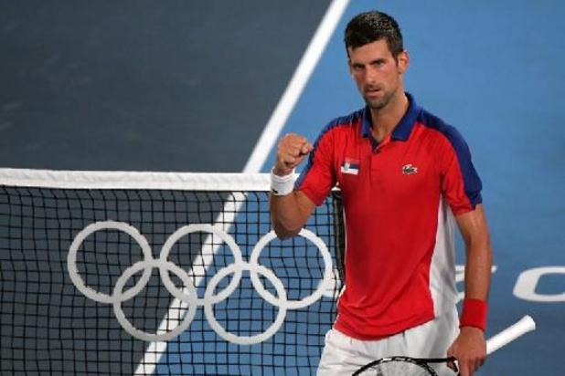 Novak Djokovic encore plus proche de deux médailles olympiques