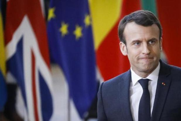 Macron bekritiseert Chinese aanpak