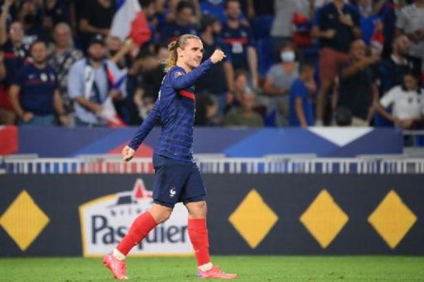 Qualifications Mondial 2022 - Griezmann égale Platini et rassure la France, les Pays-Bas écrasent la Turquie