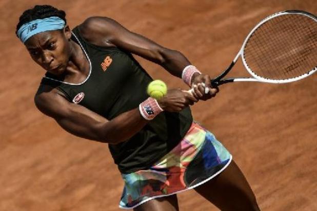 WTA Parme: Cori Gauff et Qiang Wang en finale