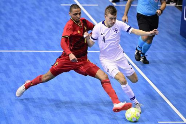Qualifications Euro 2022 de futsal - La Belgique accrochée par la Finlande pour son premier match de qualification