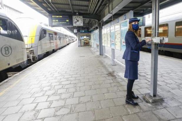 Fin des congés scolaires: la SNCB réaugmente son offre ferroviaire dès ce 16 novembre