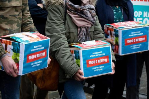 Federaal regeerakkoord - Minimumpensioen van 1.580 euro bruto is 1.450 euro netto