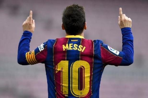 Lionel Messi laat laatste competitiewedstrijd aan zich voorbijgaan