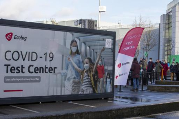 La capacité de tests à Brussels Airport quadruplée pour les retours de vacanciers
