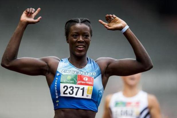 Championnats de Belgique d'athlétisme - Favoris, Anne Zagré et Michael Obasuyi ont dominé sur les haies hautes