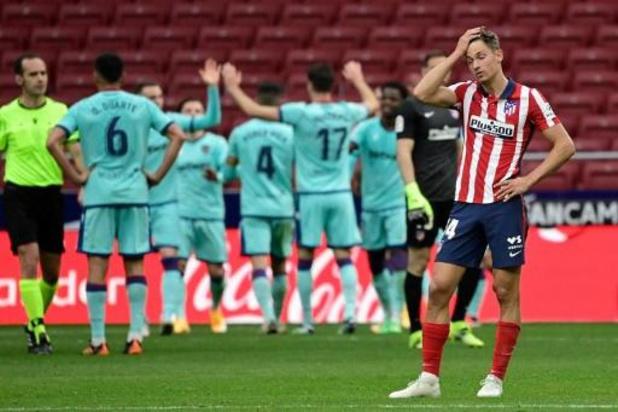 La Liga - L'Atlético Madrid battu à domicile par Levante