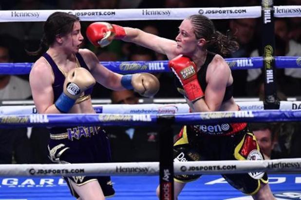 Rematch tussen Delfine Persoon en Katie Taylor ligt opnieuw op tafel