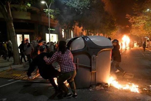 Crise en Catalogne: 182 blessés dans les violences vendredi soir