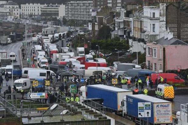 In VK worden eerste tests op truckchauffeurs afgenomen