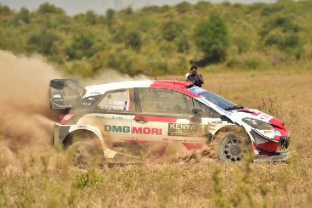 Sébastien Ogier remporte le rallye du Kenya après l'abandon de Thierry Neuville