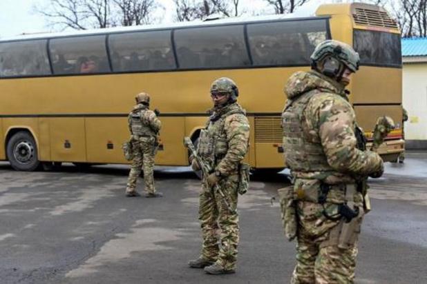 L'Ukraine et les séparatistes prorusses ont échangé 200 prisonniers