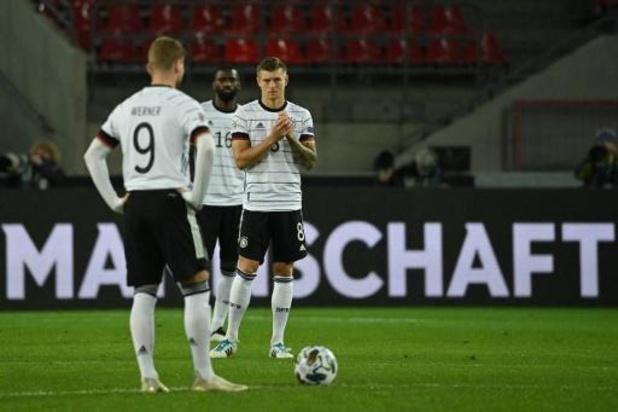 Ligue des Nations - L'Allemagne tenue en échec par la Suisse et l'Espagne battue en Ukraine