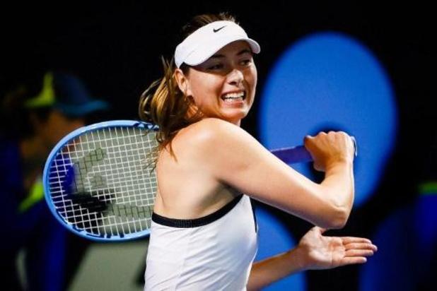Maria Sharapova, tombée à la 147e place mondiale, reçoit une invitation