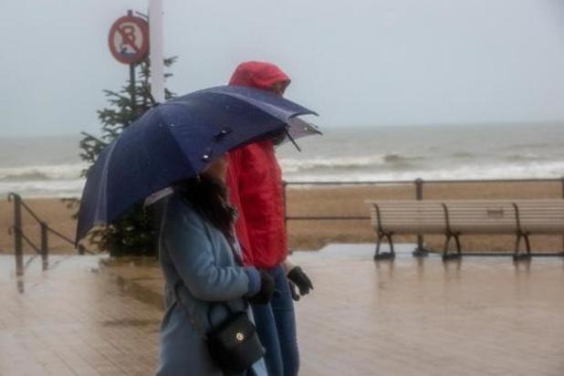 De la pluie pour terminer la semaine