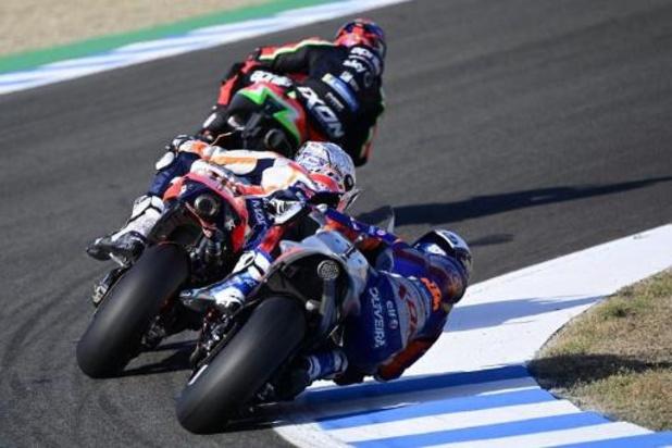 Barry Baltus 29e des qualifications des Moto3 à Jerez