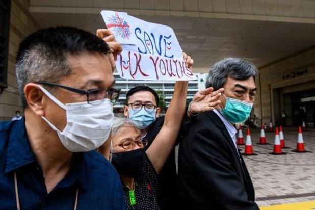 Negentienjarige activist in Hongkong krijgt celstraf voor beledigen Chinese vlag