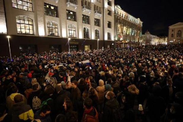 Navalny - Navalny-aanhangers overal in Rusland de straat op, honderden arrestaties