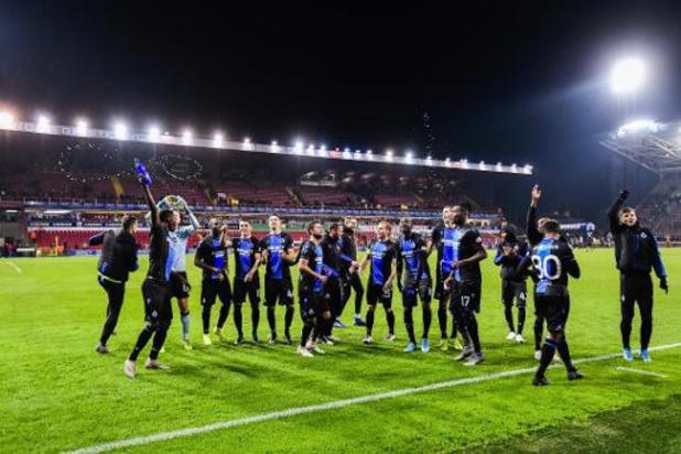 Jupiler Pro League - Leider Club Brugge blijft foutloos op verplaatsing, Genk pakt in extremis een punt