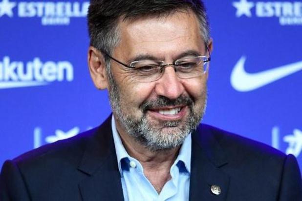 FC Barcelone: Bartomeu démissionne