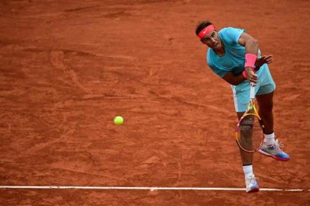 Rafael Nadal passe aisément le premier tour de Roland-Garros