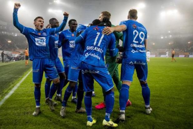 Jupiler Pro League - La Gantoise domine Genk et prend seule la 2e place