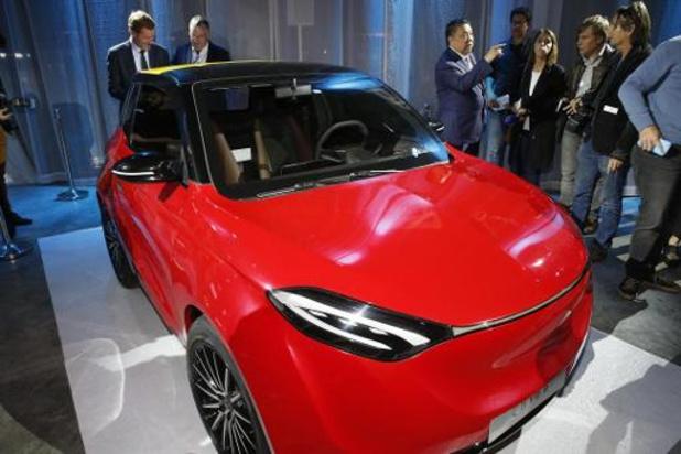 """Entretien """"très positif"""" entre le CEO de Thunder Power et Willy Borsus à Shanghai"""