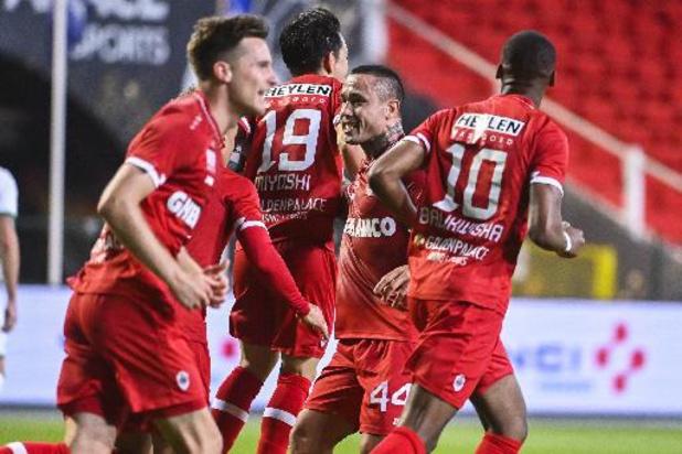 Europa League - L'Antwerp se qualifie au bout du suspense pour la phase de poules