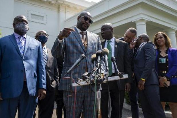 Familie van George Floyd pleit in het Witte Huis voor politiehervorming