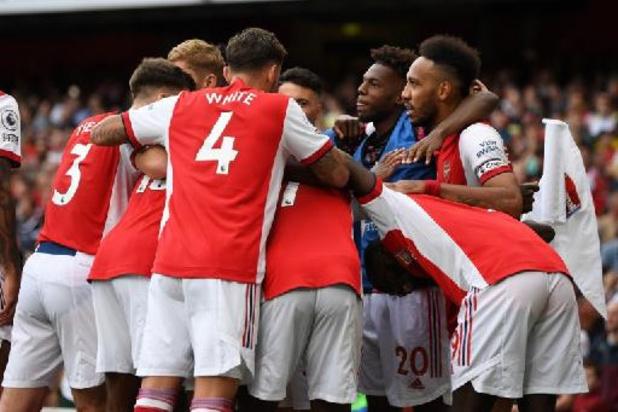Les Belges à l'étranger - Première victoire pour Arsenal et Sambi Lokonga, Trossard héros du jour