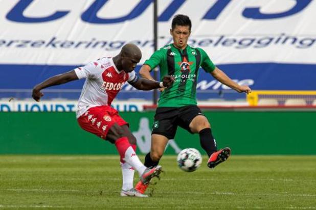 Le Cercle Bruges battu par l'AS Monaco
