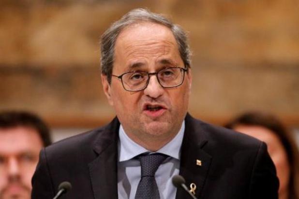 Espagne: le président catalan fait appel de sa destitution