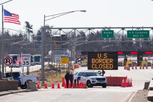 Grens tussen Canada en VS blijft gesloten tot 21 november
