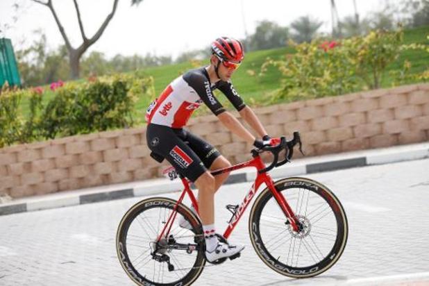 Tour de France - Lotto Soudal doit poursuivre avec cinq coureurs après l'abandon de Steff Cras