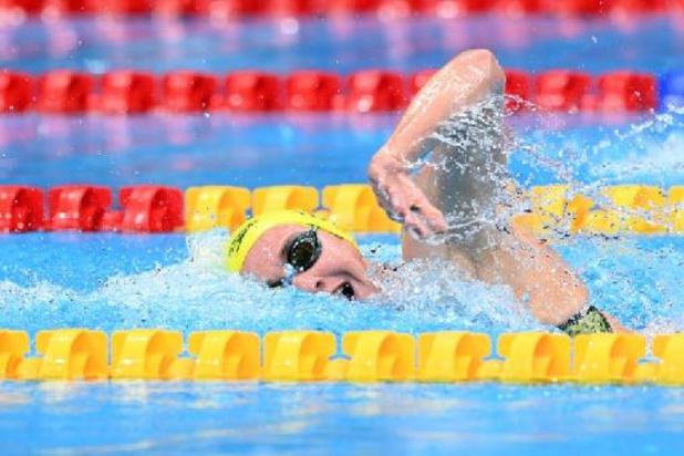 JO 2020 - L'or et le record olympique pour l'Australienne Ariarne Titmus sur le 200 m nage libre