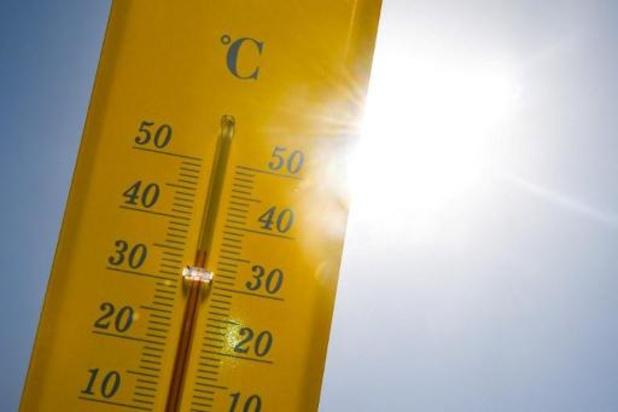 Forte chaleur sur tout le pays, avec des maxima allant jusqu'à 36 degrés localement