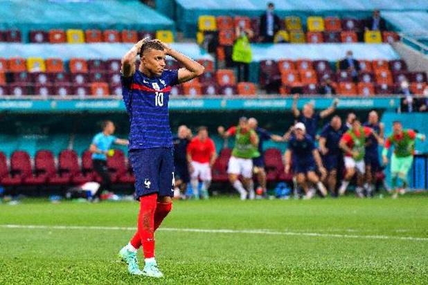 Mbappé excuseert zich voor gemiste strafschop tegen Zwitserland