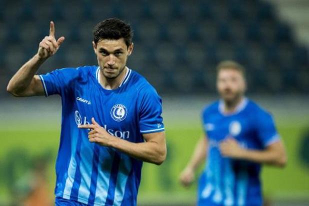 Ligue des Champions - La Gantoise bat le Rapid Vienne et accède aux barrages contre le Dynamo Kiev