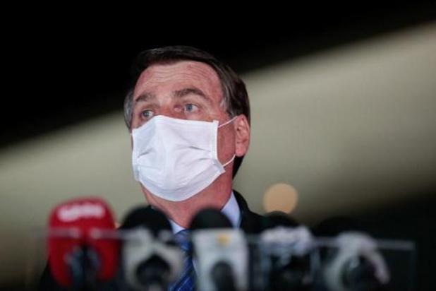 Coronavirus - Bijna helft Brazilianen vindt niet dat Bolsonaro verantwoordelijk is voor hoge dodental