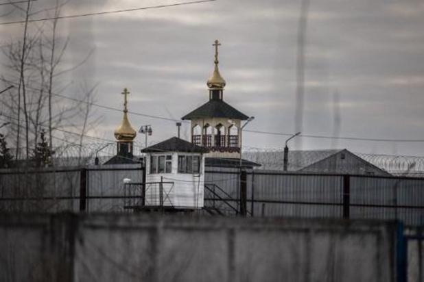 """Aleksej Navalny zegt in """"concentratiekamp"""" te zijn opgesloten"""
