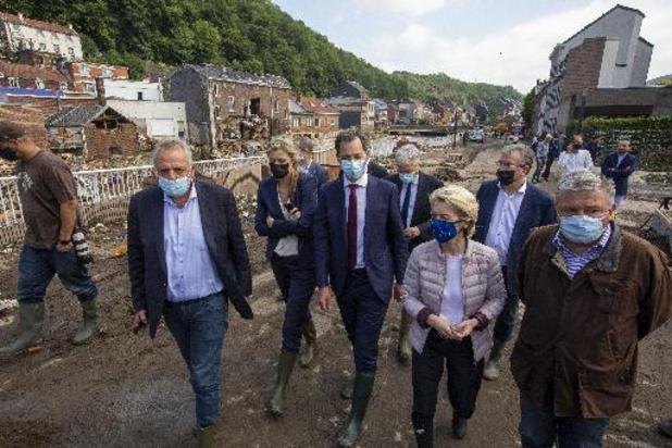 België vraagt 185 miljoen euro uit EU-solidariteitsfonds