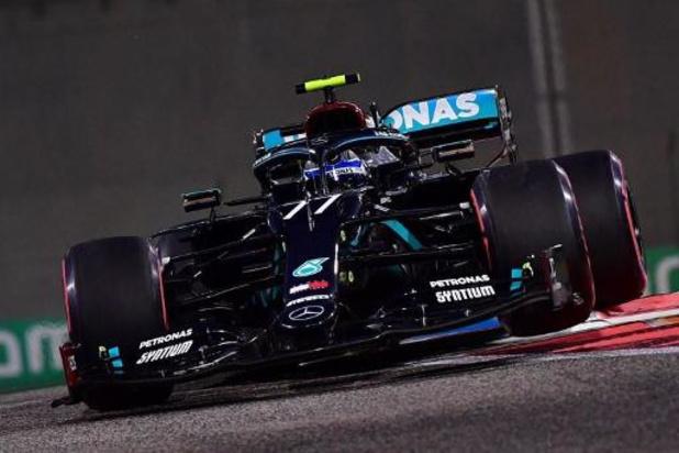 Valtteri Bottas leidt het pak in tweede oefenritten F1 - GP van Abu Dhabi
